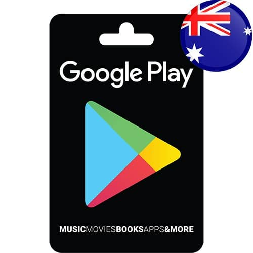 گیفت کارت گوگل پلی استرالیا - AUD